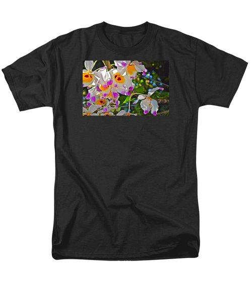 Spring Show 15 Brazilian Orchid Men's T-Shirt  (Regular Fit) by Janis Nussbaum Senungetuk