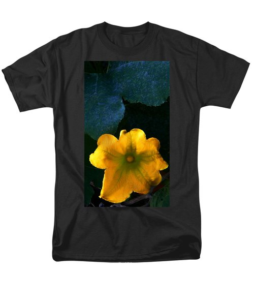 Men's T-Shirt  (Regular Fit) featuring the photograph Squash Blossom by Lenore Senior