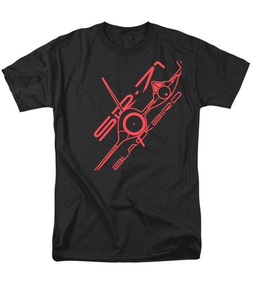 Sr-71 Blackbird Men's T-Shirt  (Regular Fit) by Ewan Tallentire