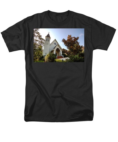 Men's T-Shirt  (Regular Fit) featuring the photograph St. James V4 Fairhope Al by Michael Thomas
