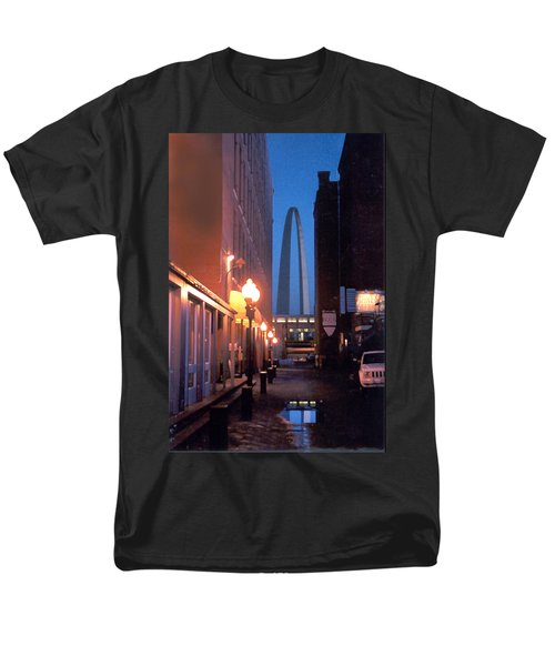Men's T-Shirt  (Regular Fit) featuring the photograph St. Louis Arch by Steve Karol