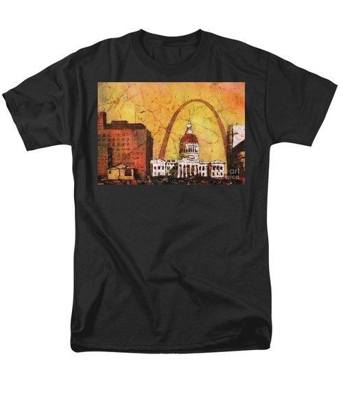 St. Louis Archway Men's T-Shirt  (Regular Fit) by Ryan Fox