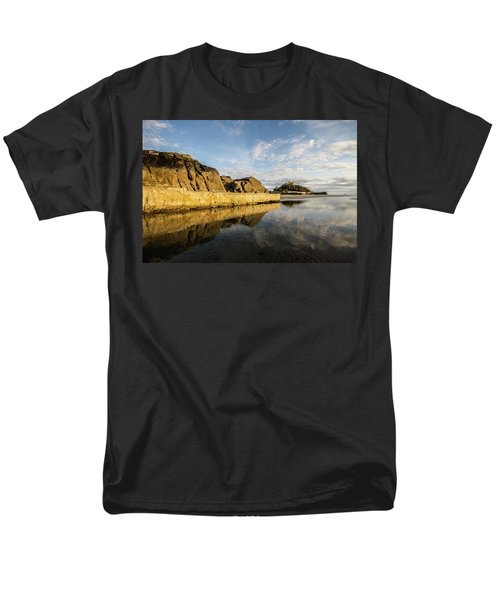St Michaels Mount Cornwall  Men's T-Shirt  (Regular Fit) by Ken Brannen