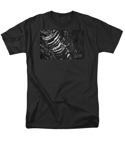 Men's T-Shirt  (Regular Fit) featuring the photograph Stairs Of Time by Yulia Kazansky