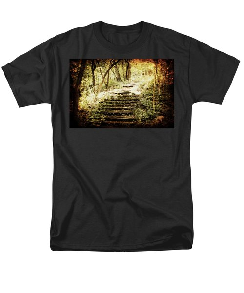 Stairway To Heaven Men's T-Shirt  (Regular Fit) by Julie Hamilton