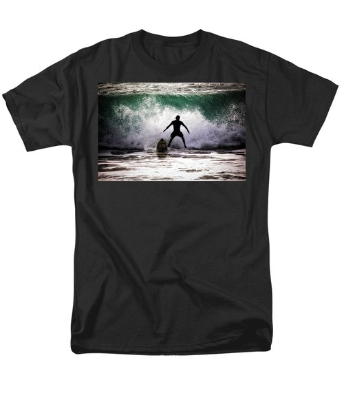 Men's T-Shirt  (Regular Fit) featuring the photograph Standby Surfer by Jim Albritton