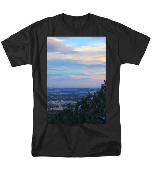 Stanley Canyon Hike Men's T-Shirt  (Regular Fit) by Christin Brodie