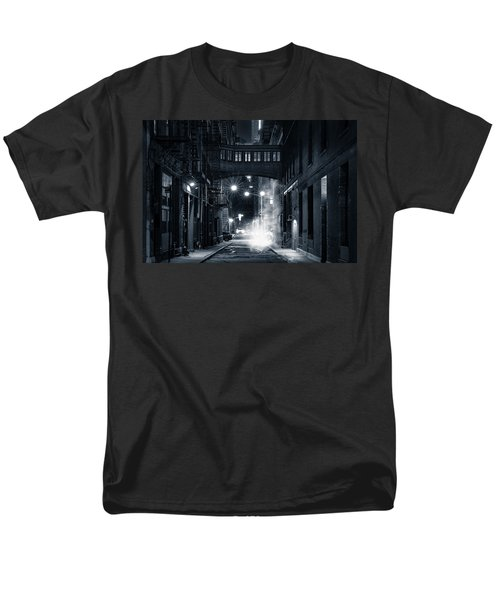 Staple Street Skybridge By Night Men's T-Shirt  (Regular Fit) by Mihai Andritoiu