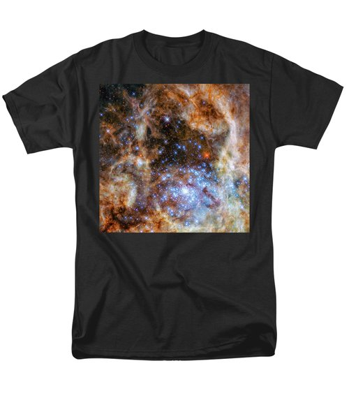 Men's T-Shirt  (Regular Fit) featuring the photograph Star Cluster R136 by Marco Oliveira