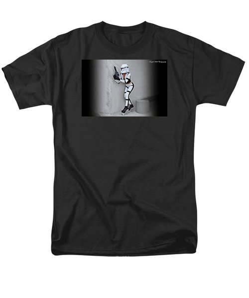 Star Wars By Knight 2000 Photography - Armor Men's T-Shirt  (Regular Fit) by Laura Michelle Corbin