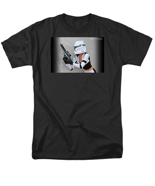 Star Wars By Knight 2000 Photography - Waiting Men's T-Shirt  (Regular Fit) by Laura Michelle Corbin