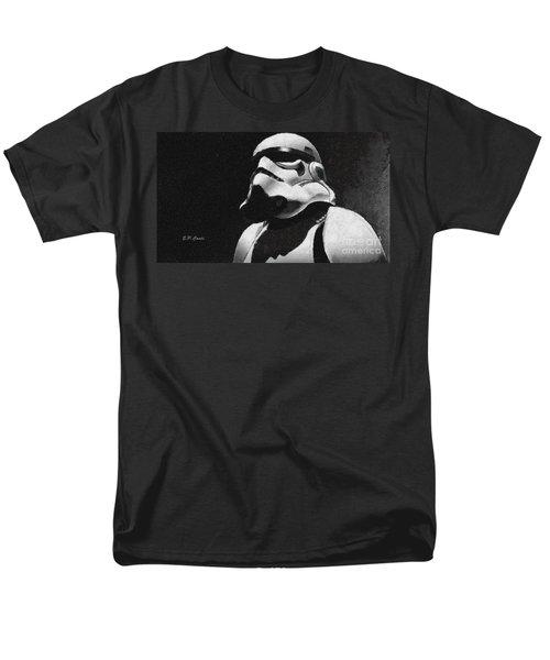 Star Wars Stormtrooper Men's T-Shirt  (Regular Fit) by Elizabeth Coats