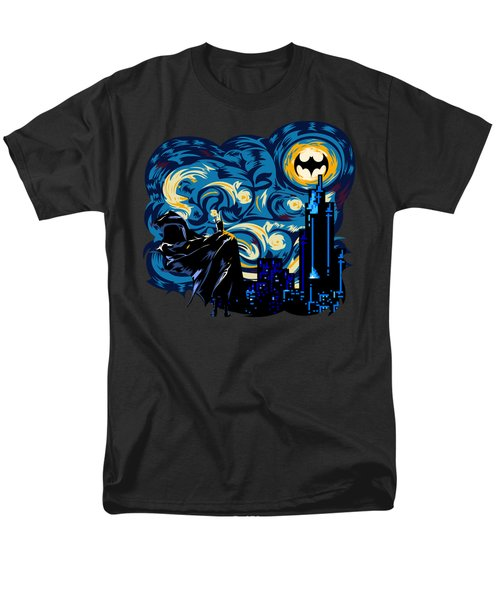 Starry Knight Men's T-Shirt  (Regular Fit) by Three Second