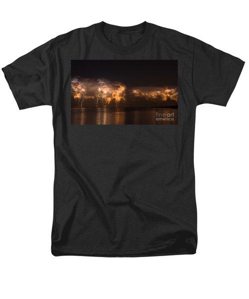 Stars And Bolts Men's T-Shirt  (Regular Fit)