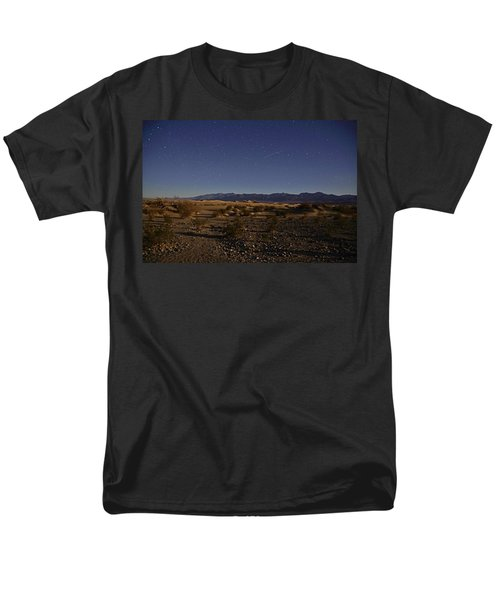 Stars Over The Mesquite Dunes Men's T-Shirt  (Regular Fit) by Michael Courtney