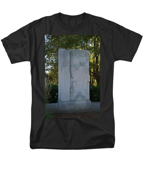 Statue Men's T-Shirt  (Regular Fit) by Joseph Yarbrough