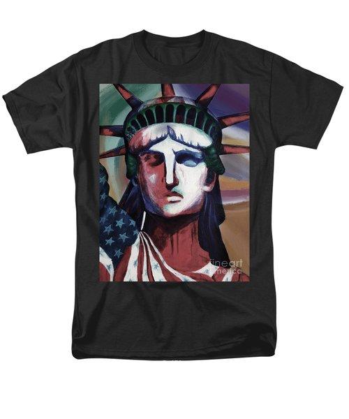 Statue Of Liberty Hb5t Men's T-Shirt  (Regular Fit) by Gull G