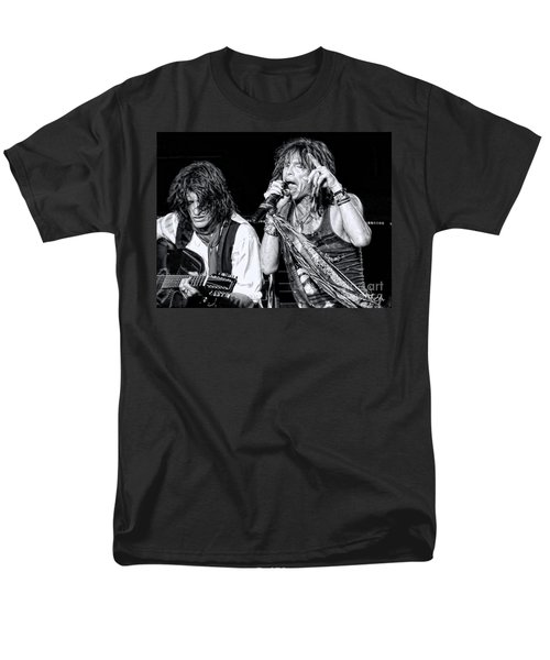 Steven Tyler Croons Men's T-Shirt  (Regular Fit) by Traci Cottingham