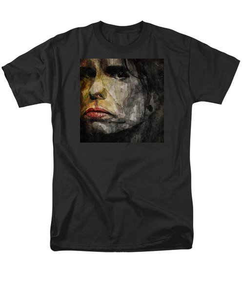 Steven Tyler  Men's T-Shirt  (Regular Fit) by Paul Lovering