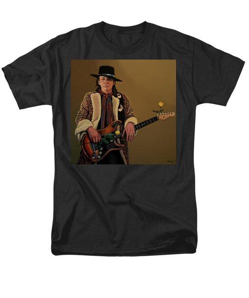 Stevie Ray Vaughan 2 Men's T-Shirt  (Regular Fit) by Paul Meijering