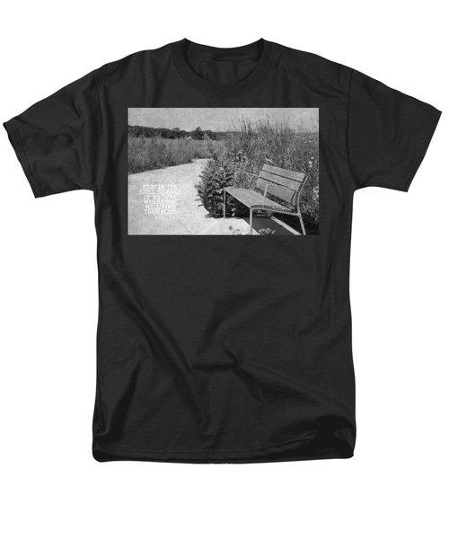 Still Silence Of Nature Men's T-Shirt  (Regular Fit) by Inspired Arts