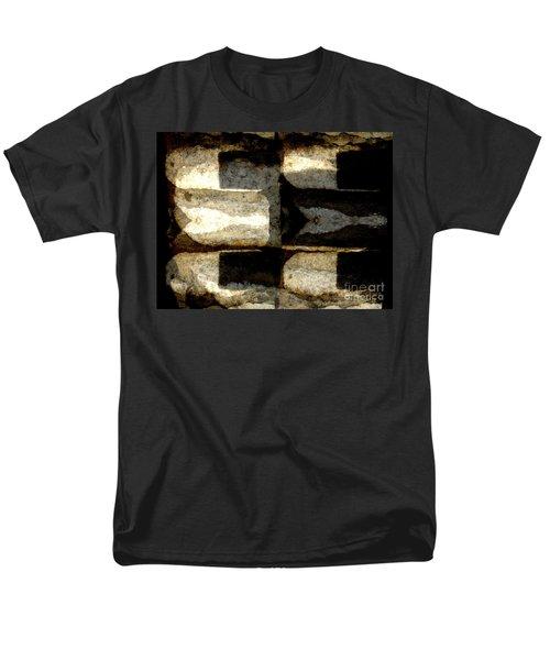 Stone Abstract Men's T-Shirt  (Regular Fit) by Barbara Moignard