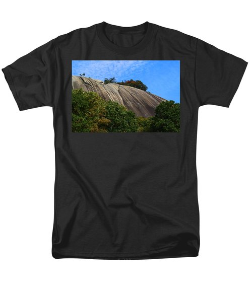 Stone Mountain Men's T-Shirt  (Regular Fit) by Kathryn Meyer