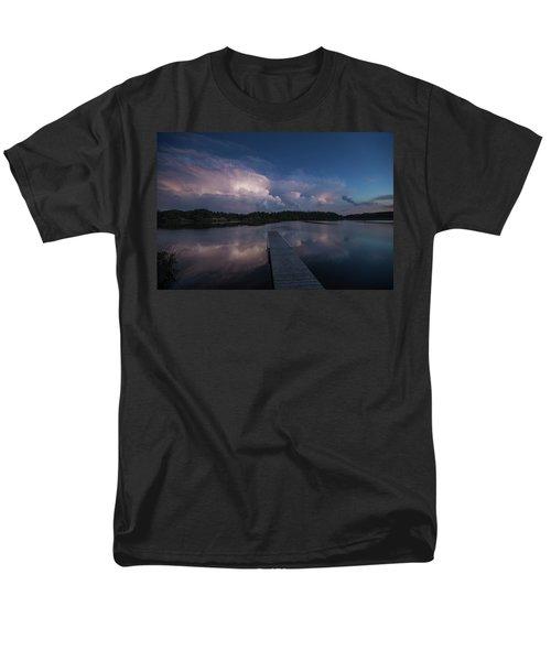 Men's T-Shirt  (Regular Fit) featuring the photograph Storm Reflection by Aaron J Groen