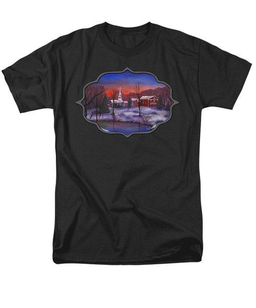 Stowe - Vermont Men's T-Shirt  (Regular Fit) by Anastasiya Malakhova