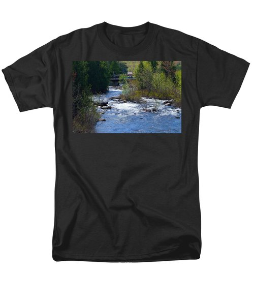 Stream In Spring Men's T-Shirt  (Regular Fit) by David Porteus