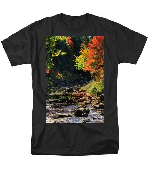 Men's T-Shirt  (Regular Fit) featuring the photograph Stream by Tom Prendergast