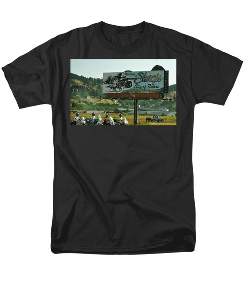 Sturgis City Of Riders Men's T-Shirt  (Regular Fit)