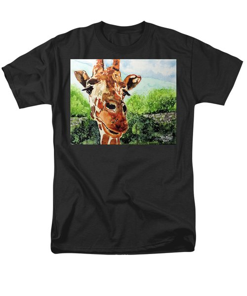 Men's T-Shirt  (Regular Fit) featuring the painting Such A Sweet Face by Tom Riggs