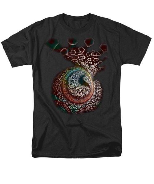 Men's T-Shirt  (Regular Fit) featuring the digital art Sudden Outburst by Anastasiya Malakhova