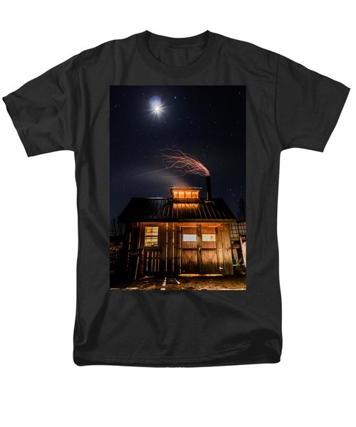 Sugar House At Night Men's T-Shirt  (Regular Fit) by Tim Kirchoff