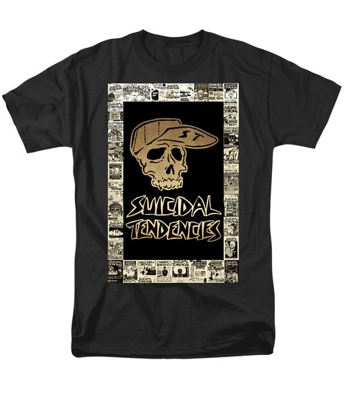 Suicidal Tendencies 2 Men's T-Shirt  (Regular Fit) by Michael Bergman