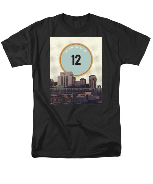 Men's T-Shirt  (Regular Fit) featuring the photograph Summer In The City by Phil Perkins
