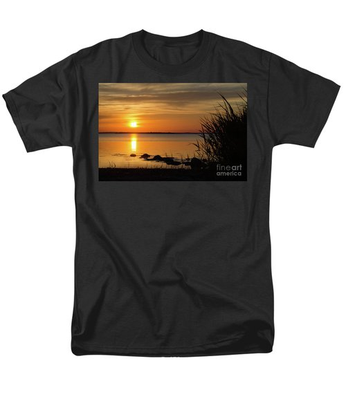 Summer Sunset Men's T-Shirt  (Regular Fit) by Kennerth and Birgitta Kullman