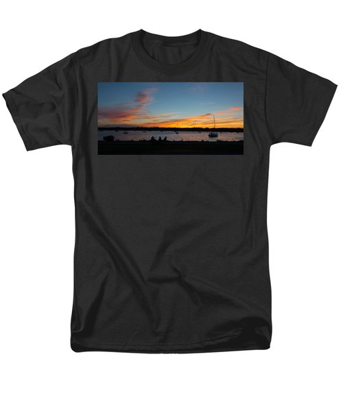 Summer Sunset With Friends Men's T-Shirt  (Regular Fit) by Kenneth Cole