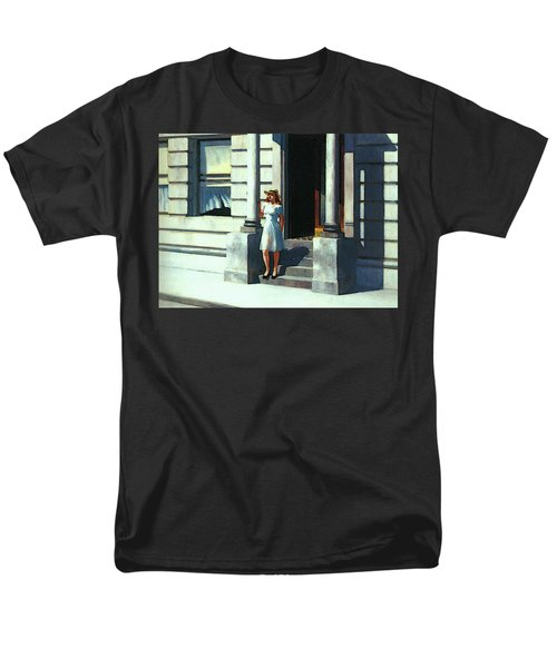 Summertime  Men's T-Shirt  (Regular Fit) by Edward Hopper