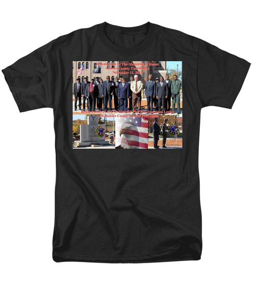 Sumter County Memorial Of Honor Men's T-Shirt  (Regular Fit) by Jerry Battle