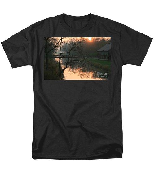 Sun Above The Trees Men's T-Shirt  (Regular Fit) by Paula Guttilla