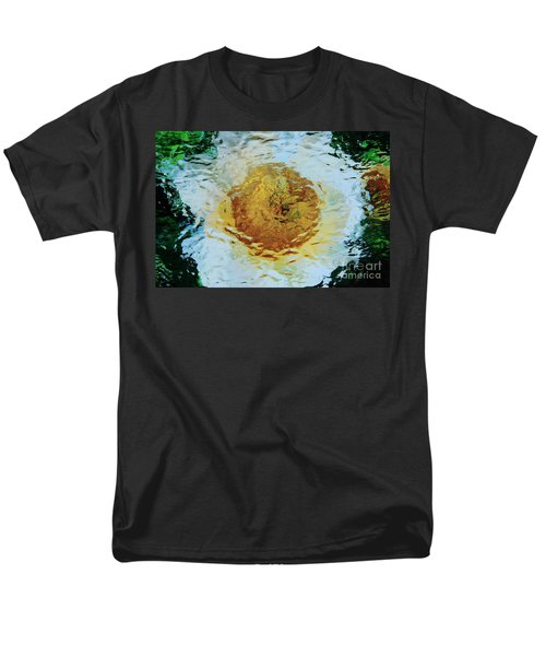 Men's T-Shirt  (Regular Fit) featuring the photograph Sun And Moon Peony Impression by Jeanette French