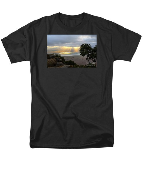 Men's T-Shirt  (Regular Fit) featuring the photograph Sun Rays by Pravine Chester
