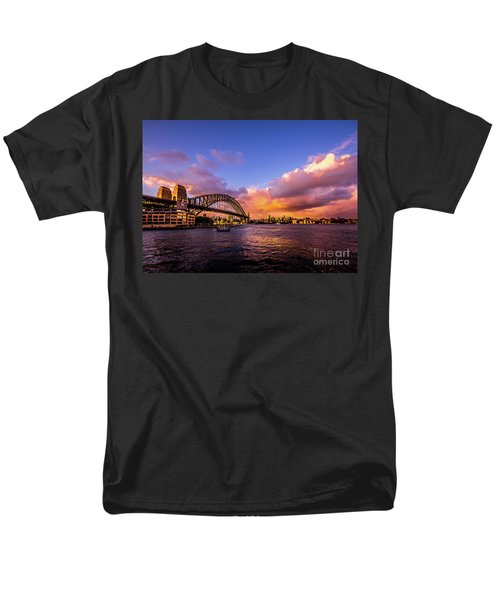 Men's T-Shirt  (Regular Fit) featuring the photograph Sun Up by Perry Webster