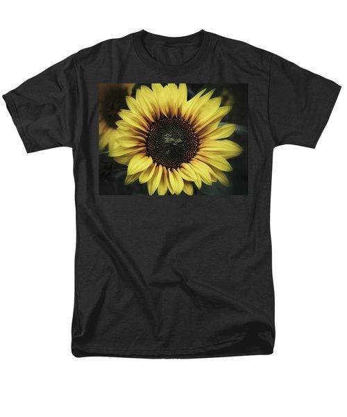 Men's T-Shirt  (Regular Fit) featuring the photograph Sunflower Dream by Karen Stahlros