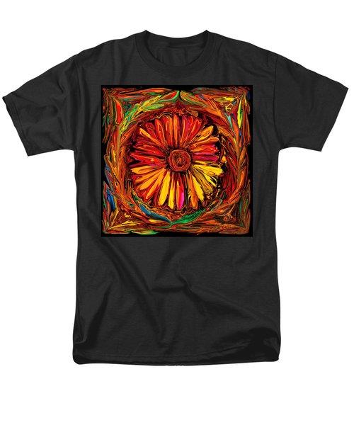 Sunflower Emblem Men's T-Shirt  (Regular Fit) by Rabi Khan