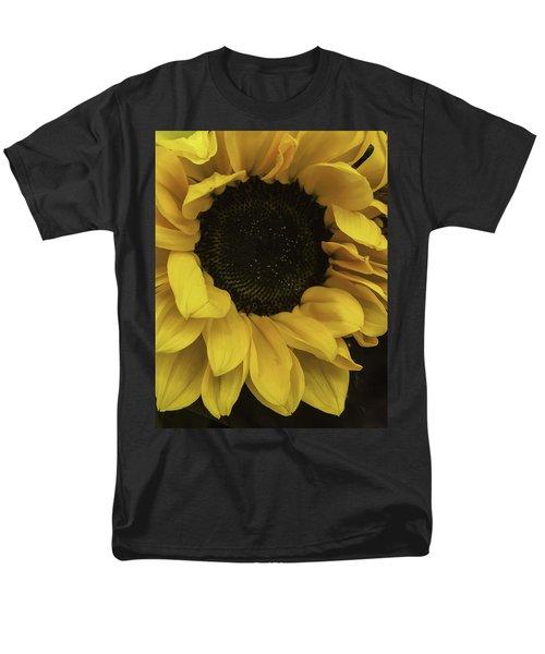 Men's T-Shirt  (Regular Fit) featuring the photograph Sunflower Up Close by Arlene Carmel