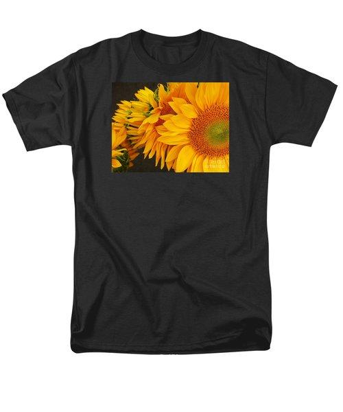 Sunflowers Train Men's T-Shirt  (Regular Fit)