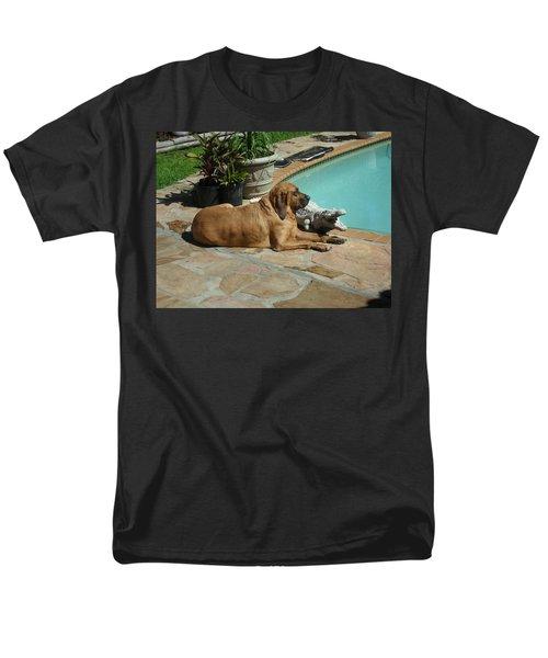 Sunning Men's T-Shirt  (Regular Fit) by Val Oconnor
